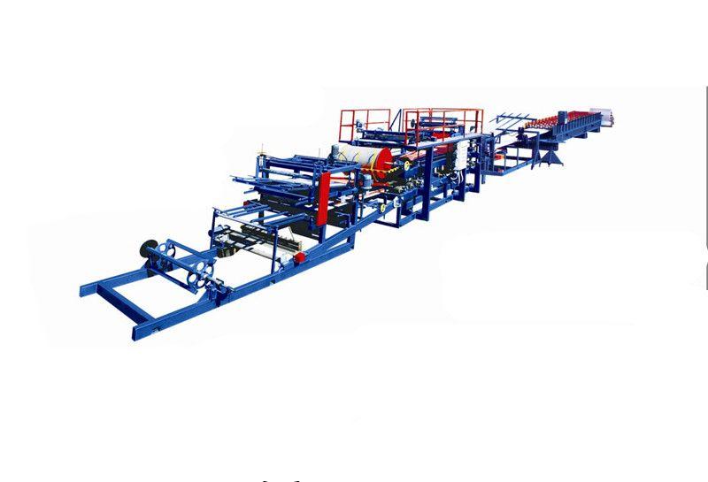 Color Steel EPS-Rockwool Sandwich Panel Production Line