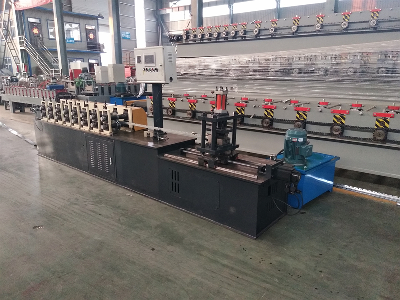 Struct V Channel Roll Forming Machine