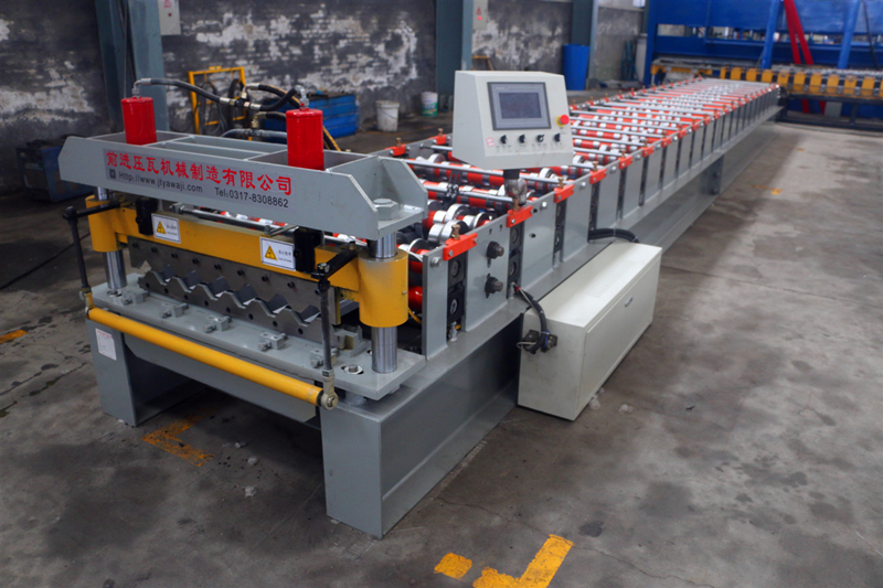 Cladding Wall Panel Roll Forming Machine