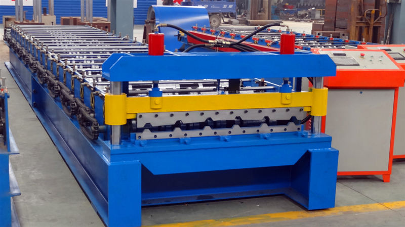 Box Profile Roof Sheet Roll Forming Machine