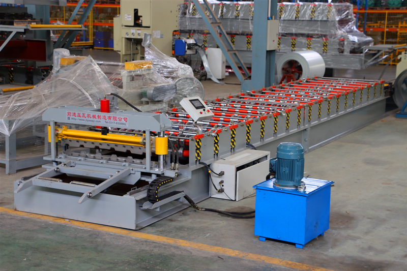 TR27-200 Roofing Sheet Roll Forming Machine