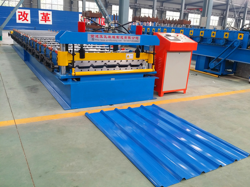 Ghana IBR Roofing Roll Forming Machine