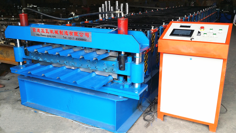 Nigeria Double Layer Roll Forming Machine